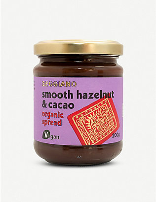 SEGGIANO: Smooth Choc Hazelnut Spread 200g