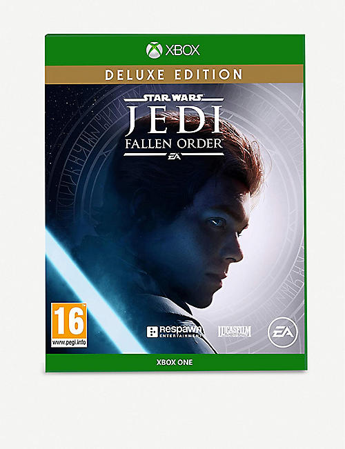 MICROSOFT: Star Wars JEDI Fallen Order Deluxe Xbox One video game