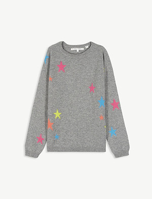 CHINTI AND PARKER Star cashmere jumper 2-16 years