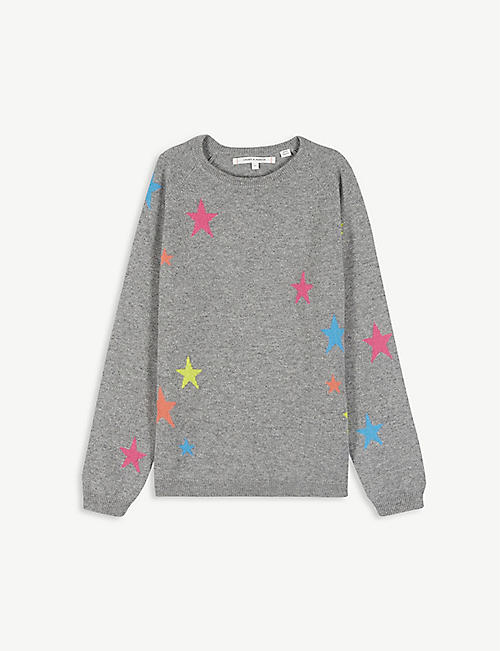 CHINTI AND PARKER: Star cashmere jumper 2-16 years