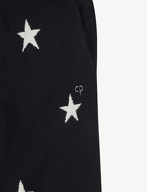 CHINTI AND PARKER Star cashmere jogging bottoms 2-16 years