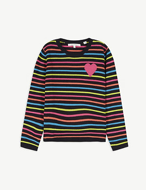 CHINTI AND PARKER Striped cashmere jumper