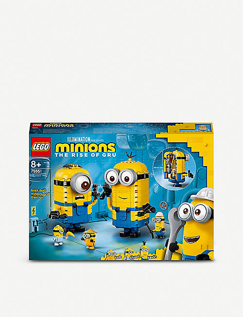 LEGO: LEGO® 75551 Minions the Rise of Gru Brick Built Minions and Their Lair set