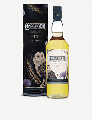 WHISKY AND BOURBON: Cragganmore 12 Year Old Special Release single malt whisky 700ml
