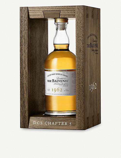 BALVENIE: The Balvenie DCS Chapter 5 1962 single malt Scotch whisky 700ml
