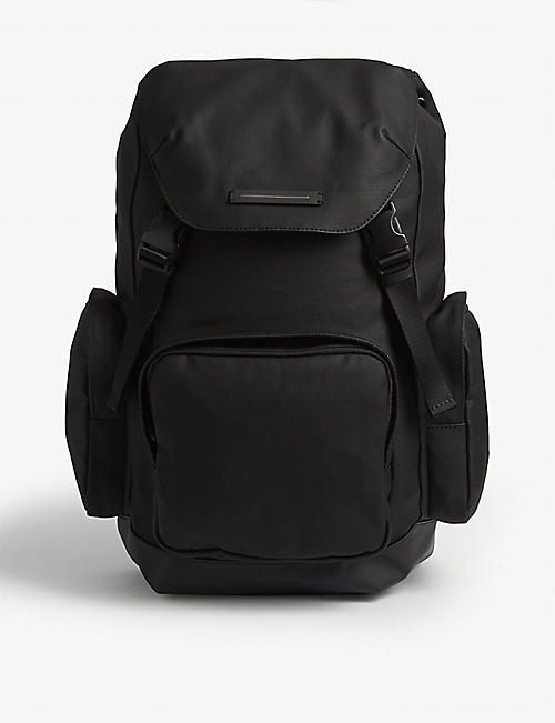 HORIZN STUDIOS: SoFo waxed canvas backpack
