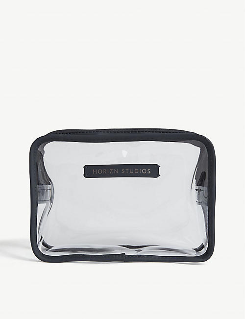 HORIZN STUDIOS: Transparent wash bag