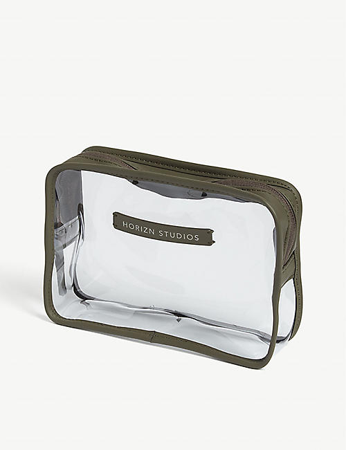 HORIZN STUDIOS Transparent liquids bag
