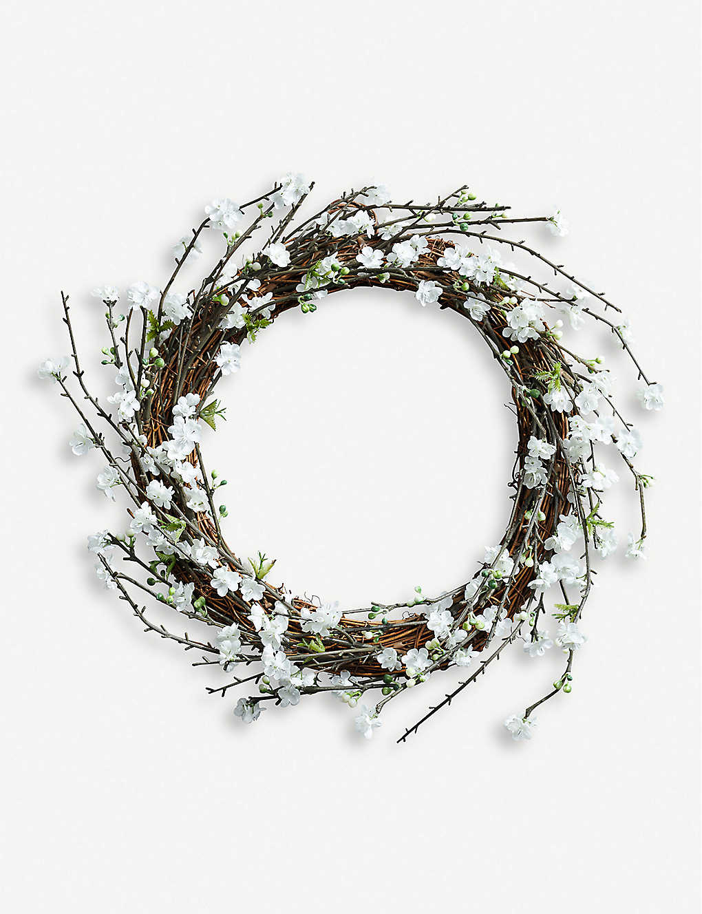 THE WHITE COMPANY: Blossom artificial wreath