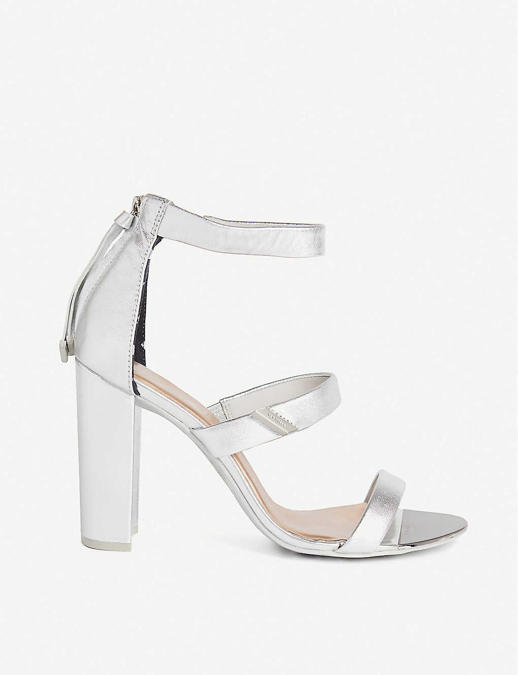 TED BAKER: Alinrm block-heel leather sandals