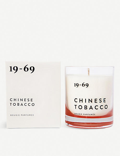 19-69 Chinese Tobacco Candle 200ml