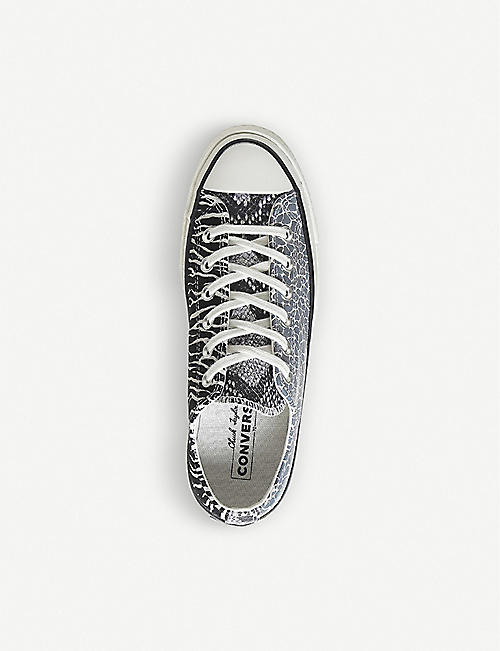 CONVERSE All Star 70s Ox animal print trainers