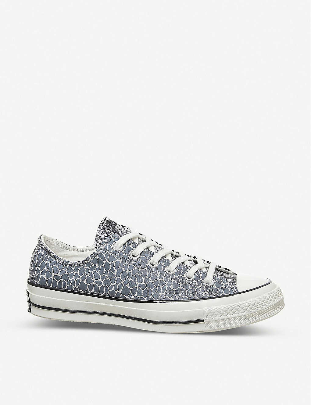 CONVERSE: All Star 70s Ox animal print trainers