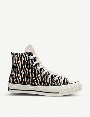 CONVERSE All Star 70s Ox animal print high-top trainers