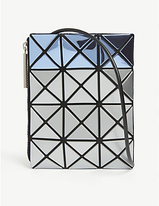 BAO BAO ISSEY MIYAKE: Mermaid metallic cross-body bag