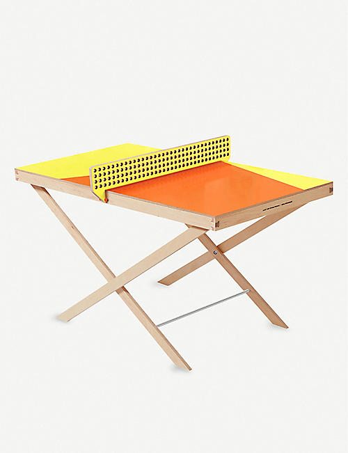 THE ART OF PING PONG MiniArt Selfridges exclusive ping pong table 140cm