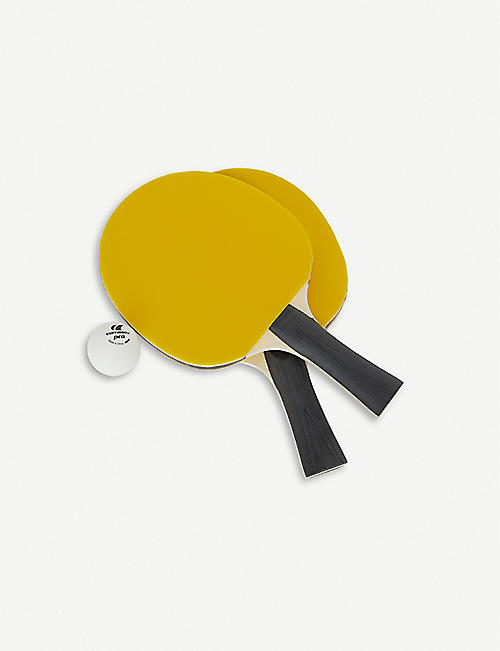 THE ART OF PING PONG Selfridges ping pong paddles set of two