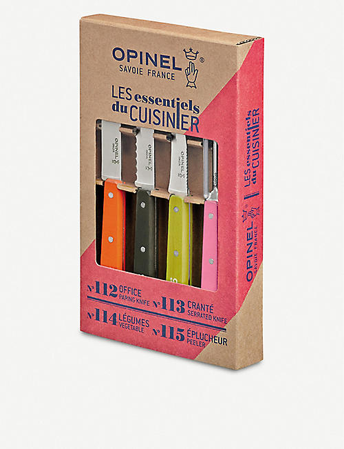 OPINEL Les Essentiels du Cuisinier knives set of four