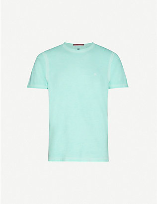 CP COMPANY: Logo-print cotton-jersey short-sleeve T-shirt