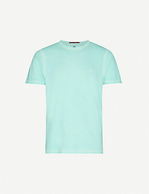 CP COMPANY Logo-print cotton-jersey short-sleeve T-shirt