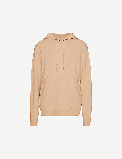 PEOPLE'S REPUBLIC OF CASHMERE Ribbed cashmere hoody