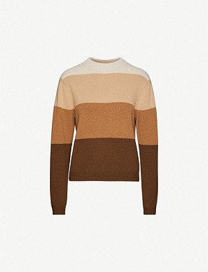 PEOPLE'S REPUBLIC OF CASHMERE Striped cashmere jumper