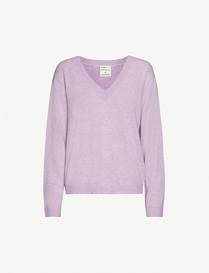 PEOPLE'S REPUBLIC OF CASHMERE V-neck cashmere jumper