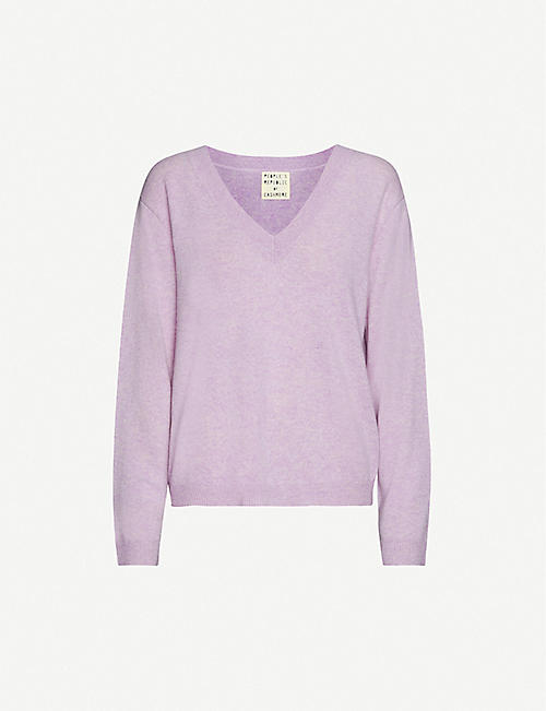 PEOPLE'S REPUBLIC OF CASHMERE: V-neck cashmere jumper