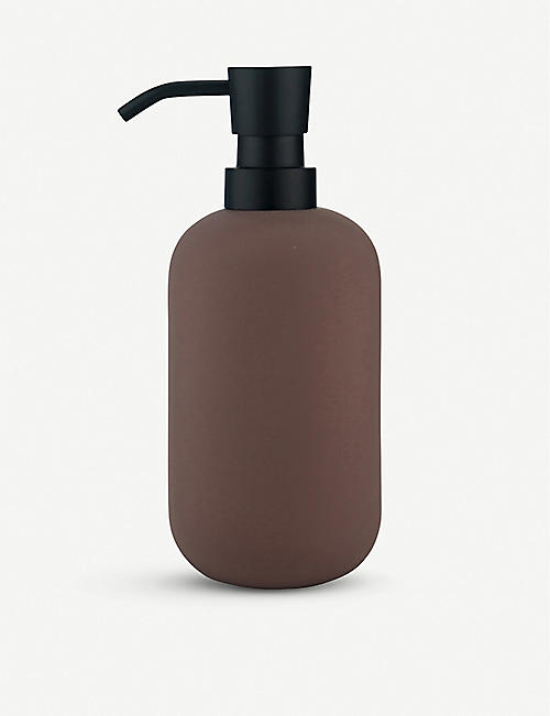 METTE DITMER: Lotus tall matte soap dispenser