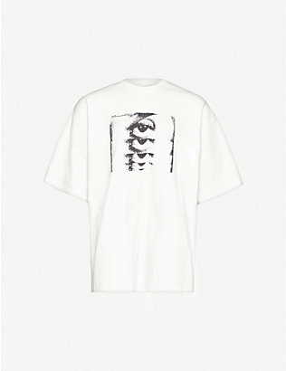 OAMC: Simone graphic-print cotton-jersey T-shirt