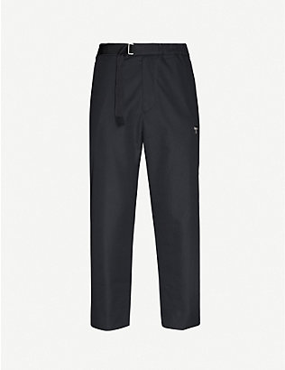 OAMC: Zipped pocket tapered slim-fit cotton trousers