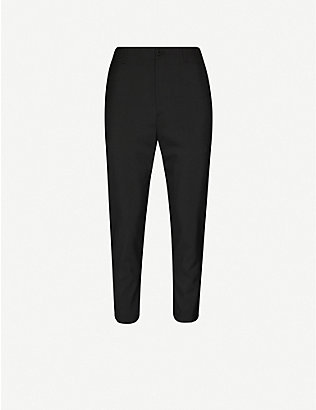 OAMC: Cropped tapered wool trousers