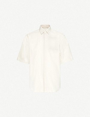 JIL SANDER Logo-print cotton shirt