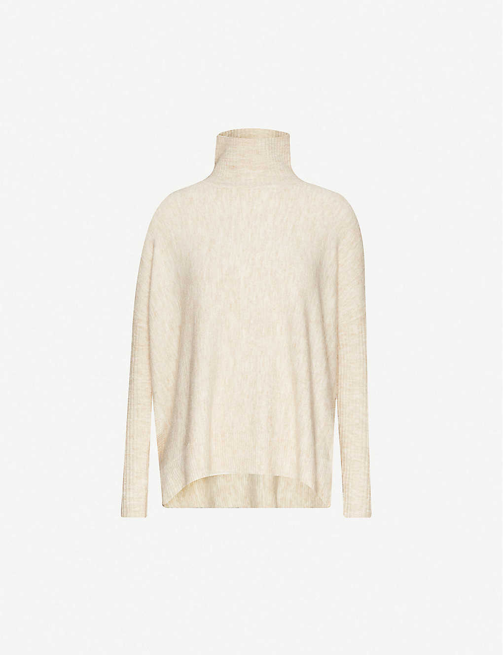 HAPPY X NATURE: Turtleneck stretch-knit jumper