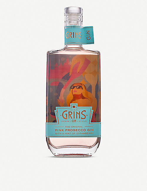 LIQUER: Grins Pink Prosecco gin 700ml