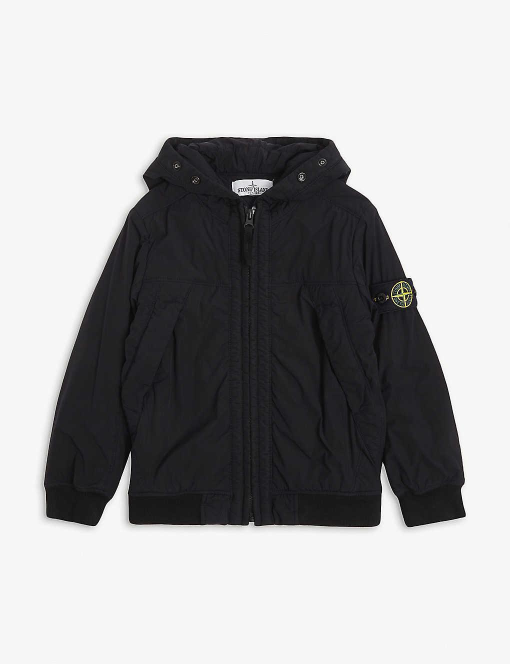 STONE ISLAND: Padded shell jacket 4-14 years