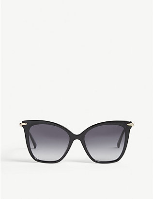 MAX MARA: Shine 3 butterfly-frame sunglasses