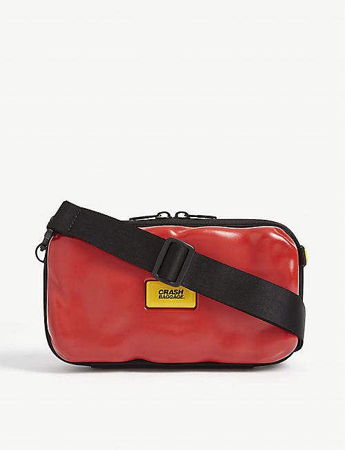 CRASH BAGGAGE: Icon mini shoulder bag
