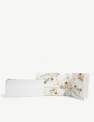 TED BAKER: Shandos woodland travel wallet