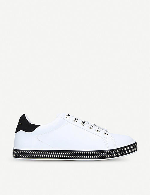KURT GEIGER LONDON Mini Lambert pumped-sole trainers ages 8-13