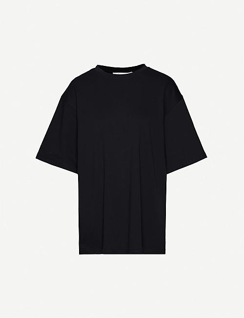 FENTY Brand-embroidered cotton-jersey T-shirt