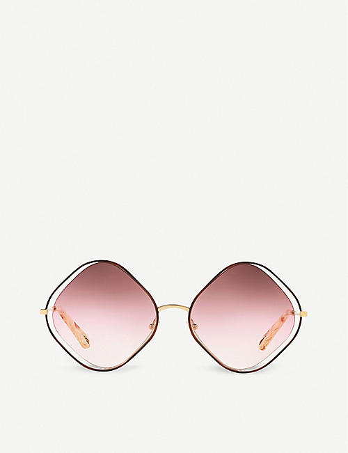CHLOE: Poppy CE159S irregular sunglasses