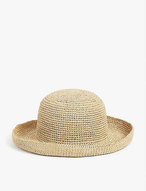 LACK OF COLOR: Raffia Cruiser hat