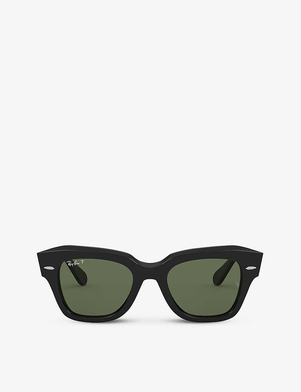 RAY-BAN: RB2186 rectangular-frame sunglasses