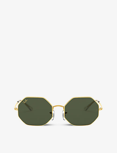 RAY-BAN: RB1972 octagonal-frame sunglasses