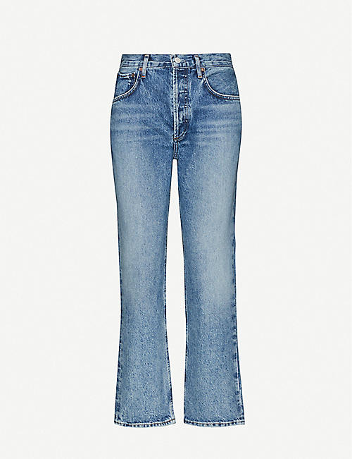 AGOLDE: Ripley mid-rise denim jeans