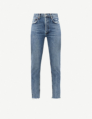 AGOLDE Jamie Classic high-rise straight jeans