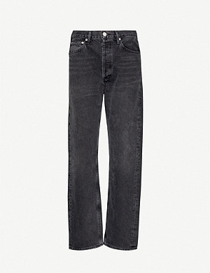 AGOLDE Mr Loose mid-rise straight-leg denim jeans