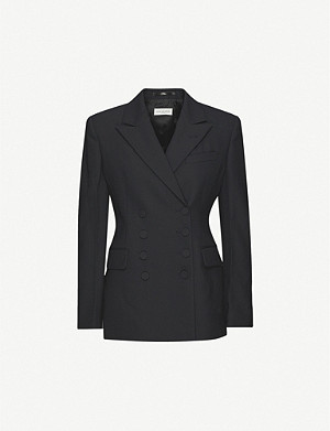 DRIES VAN NOTEN Double-breasted woven blazer