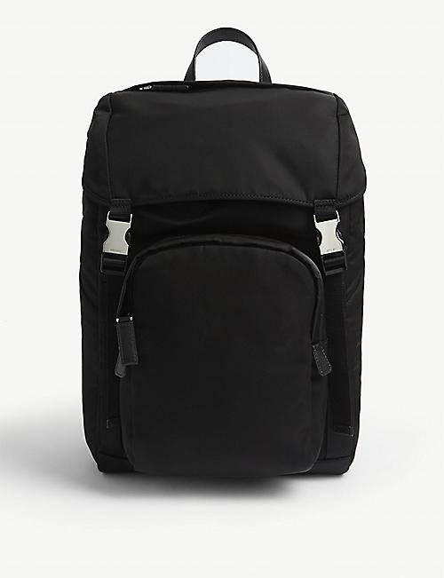 PRADA Technical details nylon backpack